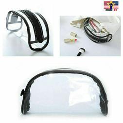 Travel Waterproof Transparent Cosmetic Bag Clear Makeup Brus