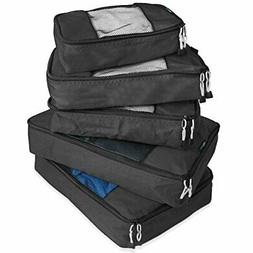TravelWise Packing Cube System Durable 5 Piece Weekender+ Lu