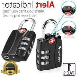 3 Digit Combination Travel Bag Suitcase Luggage Lock Padloc