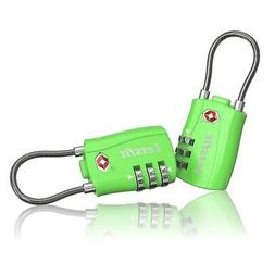 TSA Approved Luggage Lock, Letsfit Travel Lock for Suitcases