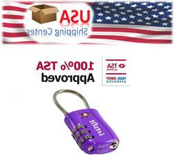 TSA Approved Luggage Locks, Letsfit Combination Lock, Pad Lo