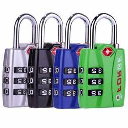 tsa travel luggage locks 4 pack open
