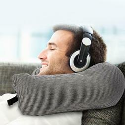 u shape travel pillow adjustable neck pillow