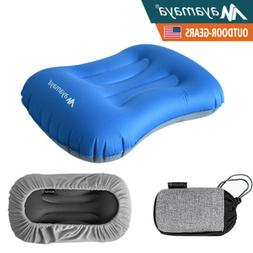 Ultralight Inflatable Camping Pillow Travel Air Cushion for