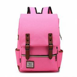 Unisex Backpack Bag School Student Casual Rucksacks Laptop T