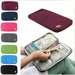 US 1-2 Pcs Travel Wallet Passport Holder Accessories Documen