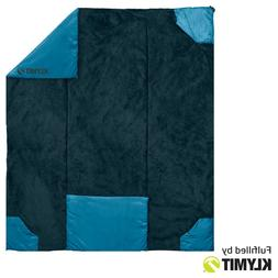 KLYMIT Versa Luxe Camping Travel Blanket and Converts Into a
