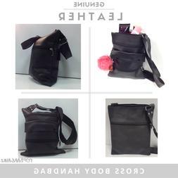 Genuine Leather Shoulder Bag Ladies Cross Body Handbag Women