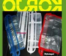 Korjo ZPB23 Zipped Plastic Packing Travel Luggage Clothes Sh